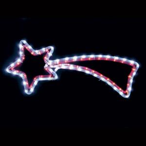 LT009, световая фигура - комета, цвет свечения - динамический (белый + красный)