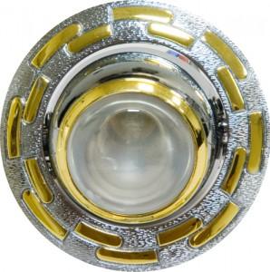 1726, светильник потолочный, R39  хром-золото