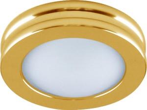 DL205, светильник потолочный, MR16 G5.3 с матовым стеклом, золото