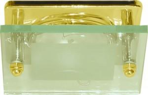 3781, светильник потолочный, R39 Е14 со стеклом, золото