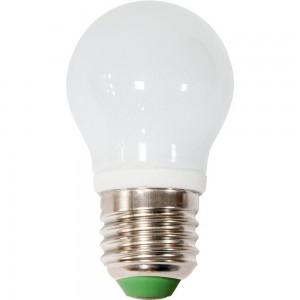 LB-81, 4000К Е27 6LED(3W) 230V G45 стекло, лампа светодиодная