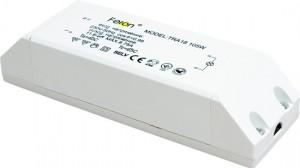 TRA18, трансформатор электронный понижающий с защитой, 230V/12V 105W