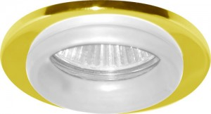 730W, светильник потолочный, MR16 G5.3 золото белый