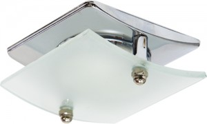 4720, светильник потолочный, R50 E14 со стеклом, хром