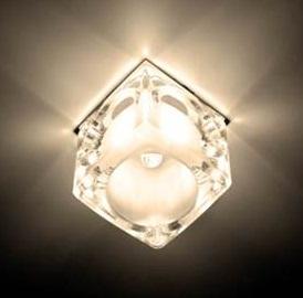 CD25, светильник потолочный,  JCD9 35W G9 прозрачный, золото (с лампой)