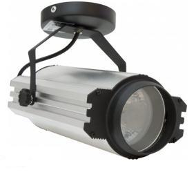 AL123, прожектор металлогалогенный с лампой и пускателем, 70W 230V G12  серебристый
