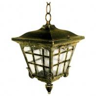 8137S, светильник садово-парковый, 60W 230V E27 черное золото
